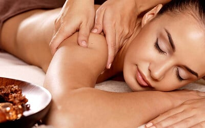 1.5-Hr Full Body Relaxing Massage + Foot and Body Scrub for 1 Person (New Customers Only)