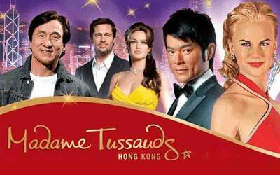 Hong Kong: Admission to Madame Tussauds Hong Kong for 1 Adult