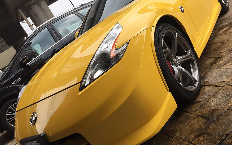 6H Glass Coating and 17-Step Auto Detailing with Meguair's 3-Layer Polish for 1 Car