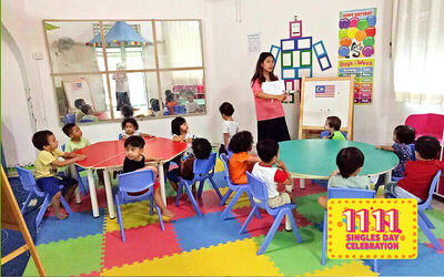 [11.11] 1-Day Toddler Enrichment Pass for 1 Child (3 Months - 5 Years Old)