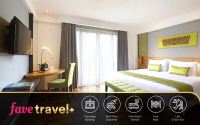 [FAVE Travel+] Kuta: 5D4N Deluxe Room + Breakfast + 1 Way Airport Transfer + Afternoon Tea