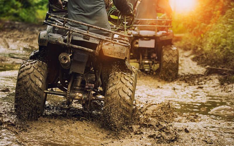 ATV Tandem + Tubing + Lunch + Return Transport untuk 2 Orang