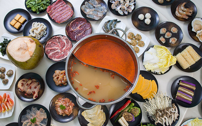 (Fri - Sun / PH) Hot Pot Dinner Buffet with Free-Flow Ice Cream and Drinks for 1 Person