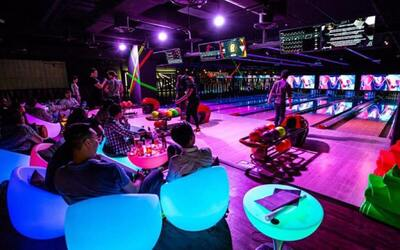 (Fri - Sun) Two (2) Cosmic Bowling Games with One (1) Beer / Soft Drink for 1 Person