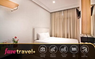 [FAVE Travel+] Kuta: 5D4N in Superior Room + Breakfast + Airport Transfer + Afternoon Tea [Free Upgrade Deluxe Room]