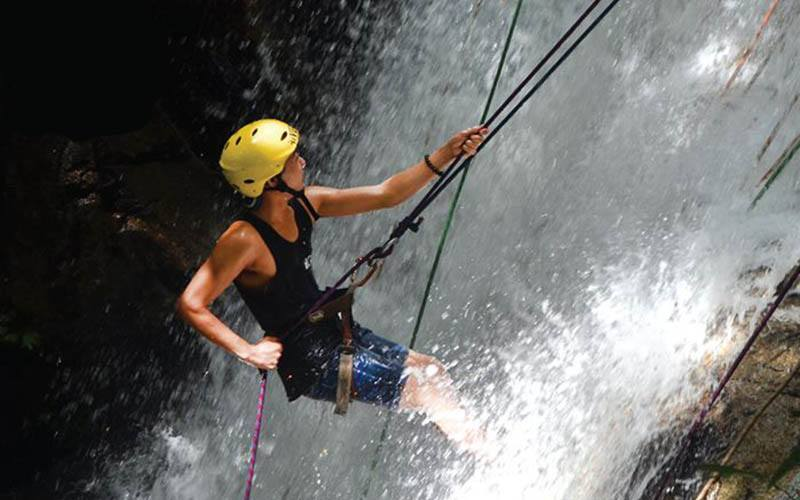 River Tubing and Water Abseiling for 1 Person