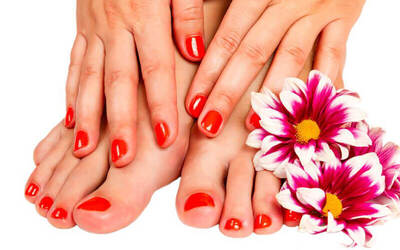 1.5-Hour Classic Mani-Pedi for 1 Person