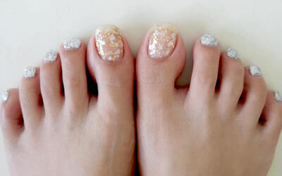 Gel Pedicure for 1 Person
