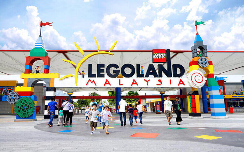2-Day Combo Admission to Legoland Theme Park and Water Park for 1 Adult
