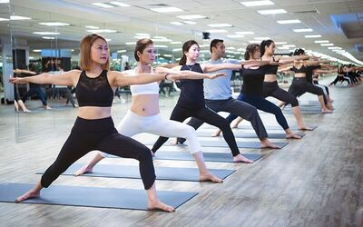 [11.11 Sale Flash] 1-Hour Hot Yoga / Yoga Stress Relief / Yoga Therapy / Hatha Yoga for 1 Person (2 Sessions)