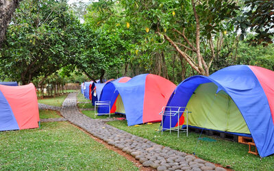 Tanjung Lesung: 2D1N Stay In Camping Ground RBF + Snorkeling 2 Persons