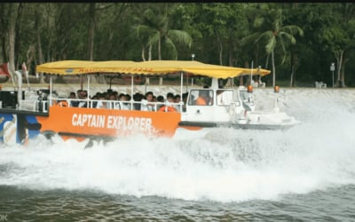 Captain Explorer DUKW® Tour for 1 Child (3 - 12 Years Old)
