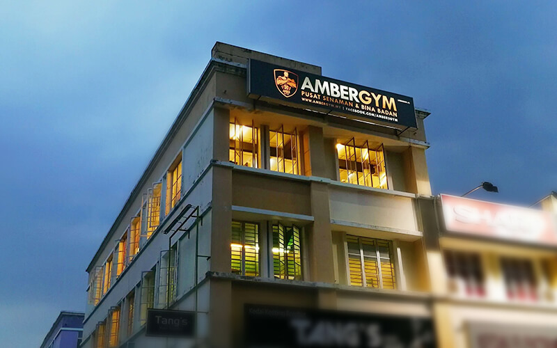Amber Gym Setia Indah featured image.