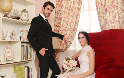 Classic Romance Indoor Prewedding Theme di Studio A Bonus Canvas