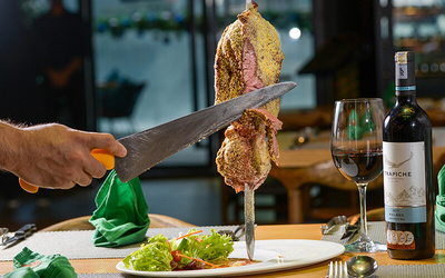 Churrascaria Dinner Buffet with Free Flow of Soft Drinks for 1 Person