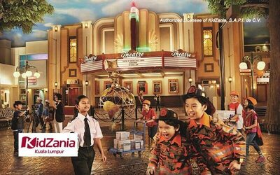 Admission Ticket to KidZania Kuala Lumpur for 1 Adult