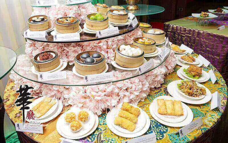 China Treasures: Chinese New Year Dim Sum and Japanese Dinner Buffet for 1 Person