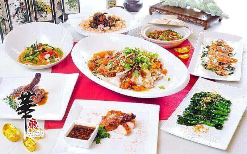 China Treasures: Chinese New Year Power Lunch Buffet for 1 Person