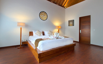Bali: 3D2N Two  Bedroom Villa With  Private Pool + Breakfast + 1x floating Breakfast + One Way Airport Transfer