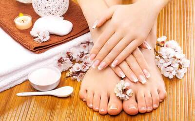 Express Gel Mani-Pedi for 1 Person