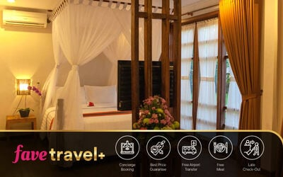 [FAVE Travel+] Seminyak: 4D3N in Two Bedroom Private Pool Villa + Breakfast + Tea Time + Return Airport Transfer