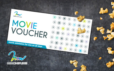 mmCineplexes: One (1) Movie Voucher for Any Movie (19 Locations)