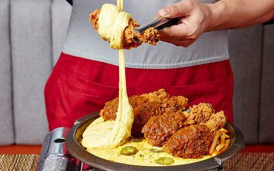 JamuSelera Mashisayo Rendang Rolling Cheese with Chicken Drumsticks