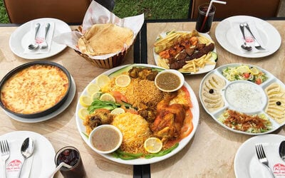 Arabian Meal with Drink for 2 People