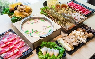 Shabu-Shabu Lobster Set D for 2 People