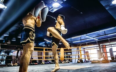 1-Hour 10-Minute Standard Class Muay Thai Training for 1 Person