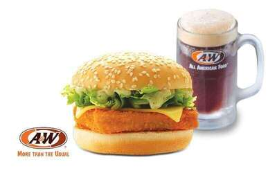 A&W: Marina Fish Burger and RB for 1 Person