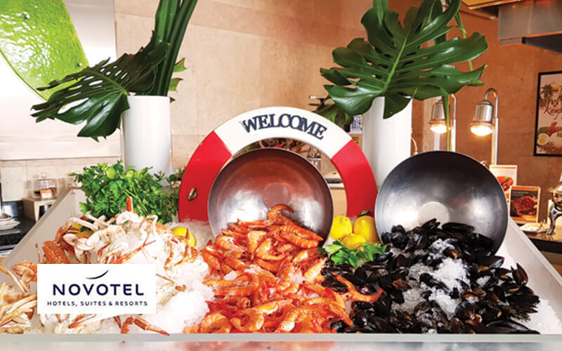 (Fri - Sat) Exquisite Seafood Buffet Dinner for 1 Person