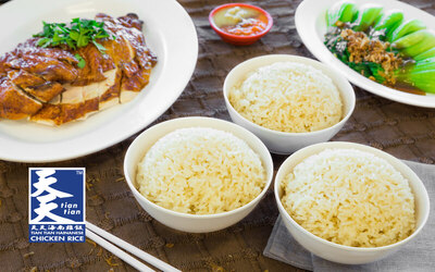 Chicken Rice with Vegetables Set for 3 People