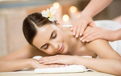 2-Hour DoTerra Peppermint Full Body Massage with Bo Jin Head Treatment and Gua Sha Treatment for 1 Person