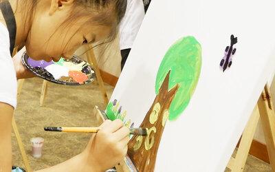1.5-Hour Children's Creative Art Session for 1 Child