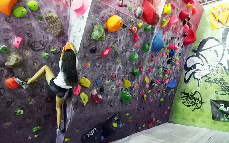 Day Pass for Indoor Rock Climbing with Unlimited Bouldering for 1 Person