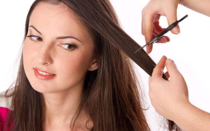 1x Hair Cut + Creambath + Back Massage + Hand Massage + Blow Dry (120 Menit)