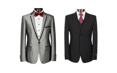 Paket B : 1 Stel Full Jas ( 1 Jas + Celana Bahan + Rompi + Dasi Formal + Kemeja Kostum Fit + Bahan Italian Wool / English Wool)