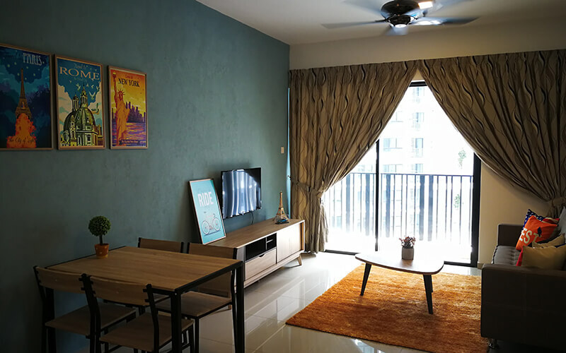 i-City: 2D1N Stay in 2-Bedroom Deluxe Corner Suite at i-Soho for 4 People