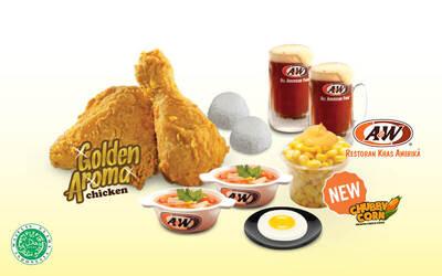 Set Menu Makan Golden Aroma® Chicken untuk 2 Orang