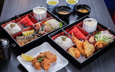 Japanese Bento Set for 2 People