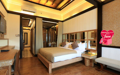 5D4N in Honeymoon Suite + Breakfast + Mini Bar + Return Airport Transfer