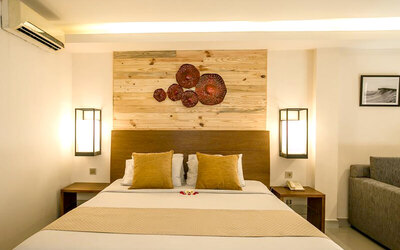 Kuta: 4D3N in Superior Suite (Room Only) + Afternoon Tea + One Way Airport Transfer