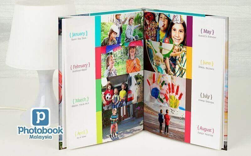 "8"" x 11"" Medium Portrait Imagewrap Hardcover Photobook (40 Pages)"