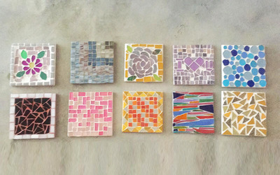 2.5-Hour Mosaic Workshop for 2 Adults