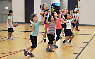 Volleyball Lessons for 1 Child (13 - 19 Years Old) (4 Sessions)