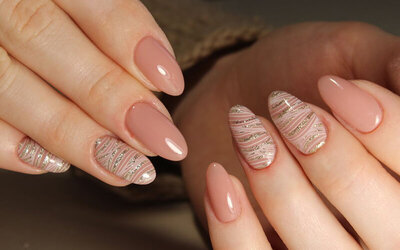 Gel Manicure with One (1) Set of Nail Art for 1 Person