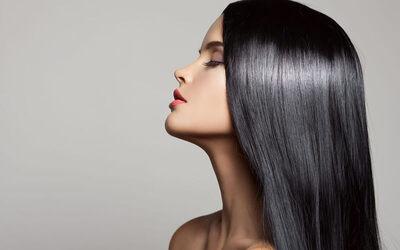 Keratin Hair Spa + Vitamin + Hair Wash + Blow / Catok / Curly