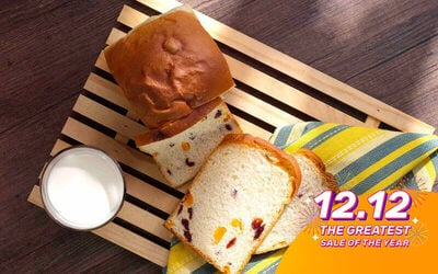 RM10 Cash Voucher for Breads and Buns