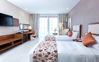Nusa Dua: 3D2N at Deluxe Room + Breakfast